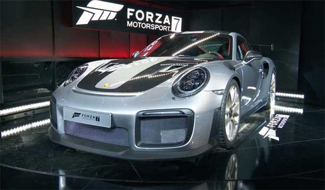 Компания Porsche неожиданно презентовала 911 gt2 rs 2018