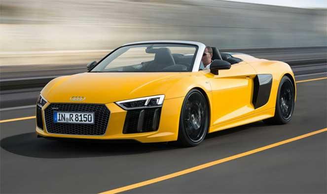 Audi R8 Spyder получил новую модификацию с двигателем V10