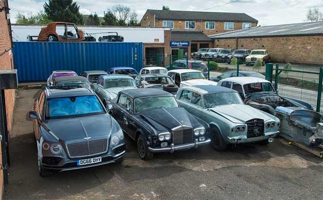 В Великобритании работает разборка автомобилей Rolls-Royce и Bentley