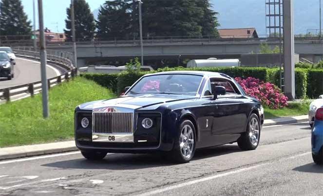 Самый дорогой автомобиль в мире видели возле французского города Бордо (видео)