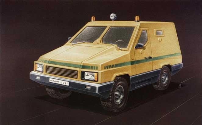 Инкассаторский ГАЗ-66