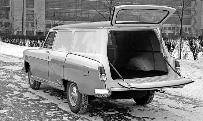 Фургон ГАЗ-22а