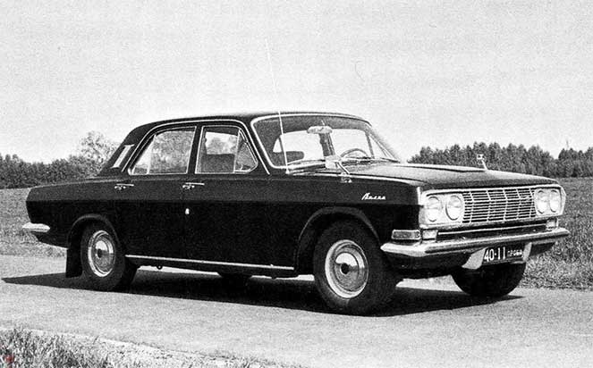 Люксовый вариант ГАЗ-24