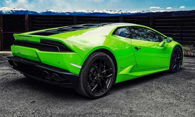 Болгары «оттюнинговали» Lamborghini Huracan