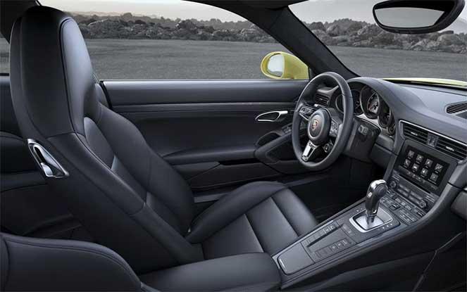 Салон Porsche 911 Turbo S