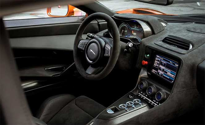 Салон Jaguar C-X75