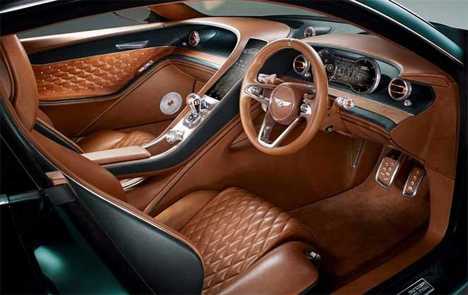 Салон Bentley EXP 10 Speed 6 Concept