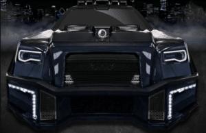 Компания Dartz представляет внедорожник на основе Mercedes-AMG GLS 63