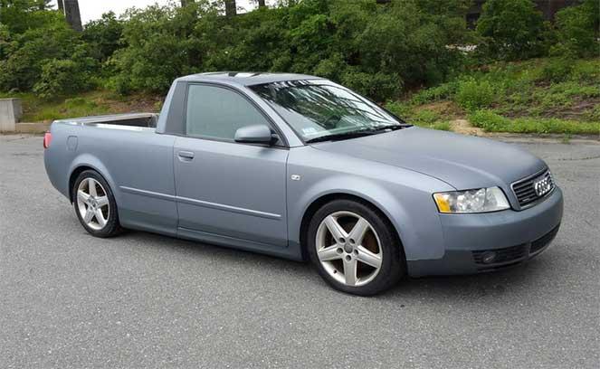 Пикап из седана Audi A4/S4