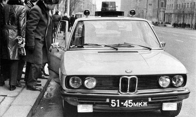 BMW 520 «Милиция» (E12)