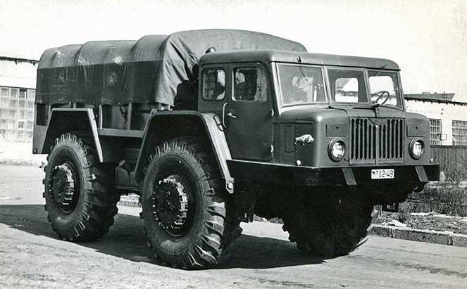 Шедевры из мира военных автомобилей из Белоруссии