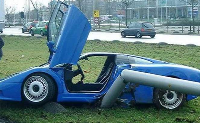Десятка самых дорогих автомобильных аварий