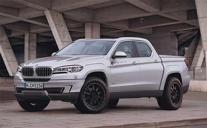 BMW готовится вывести на рынок первый пикап
