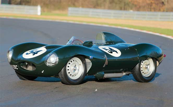 Jaguar D-Type '1955–56