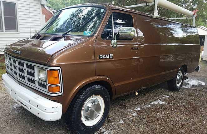 Фургон Dodge Ram