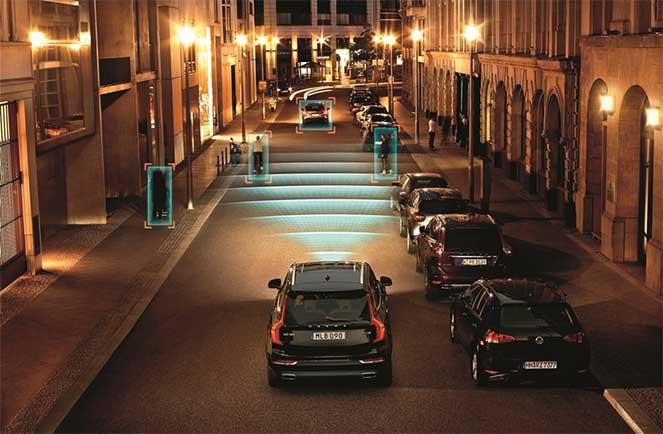 Volvo создала систему распознавания пешеходов