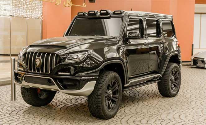 Карбоновый Mercedes Gelandewagen X-Raid от Ares Modena стал звездой соцсетей