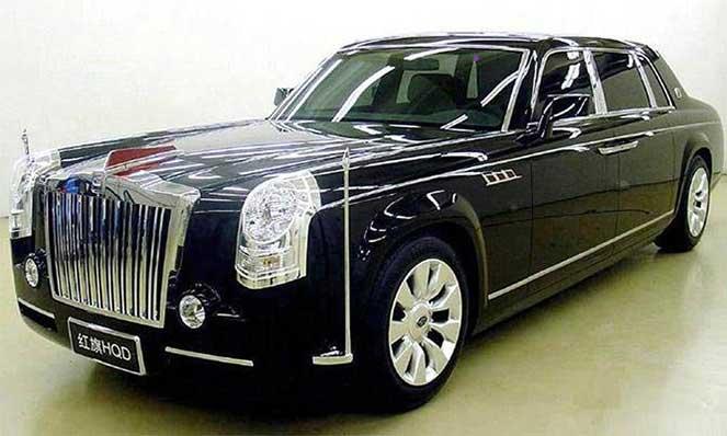 Китайский автопром решил сделать свой Rolls-Royce