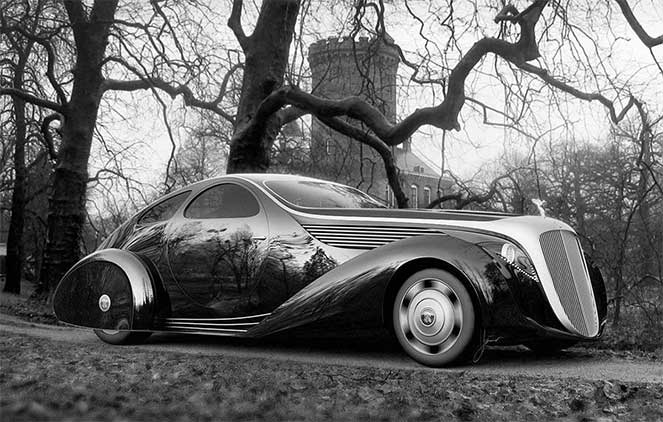 Rolls Royce Aerodynamic Coupe II