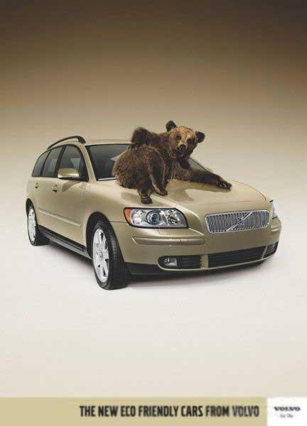 Volvo предлагает подружиться с природой