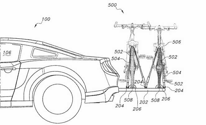 Компания Ford хотела запатентовать крепление для велосипедов, но опоздала