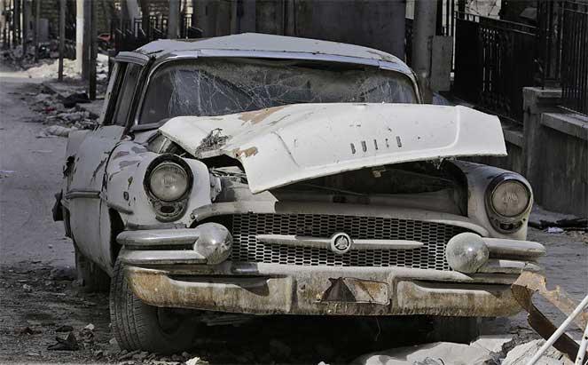 Автомобиль в Алеппо