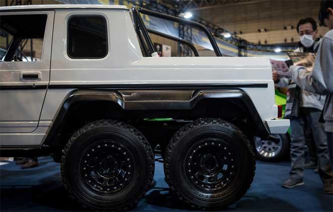 Маленький Гелендваген из Suzuki Jimny