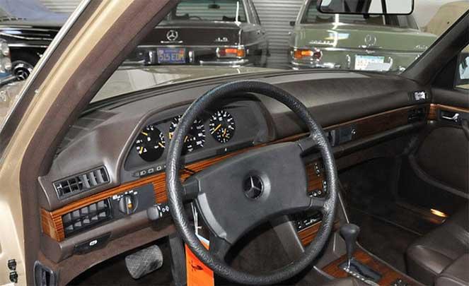 Mercedes-Benz W126 - 35 лет простоя, а работает как часы