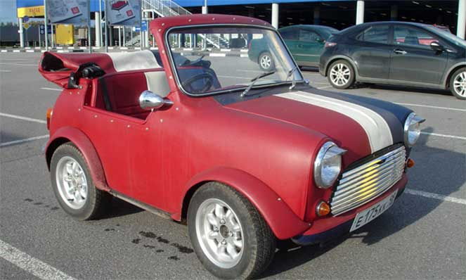 Austin Mini Shortie (Mini Metro)