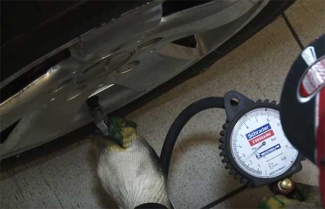 Низкое давление в шинах