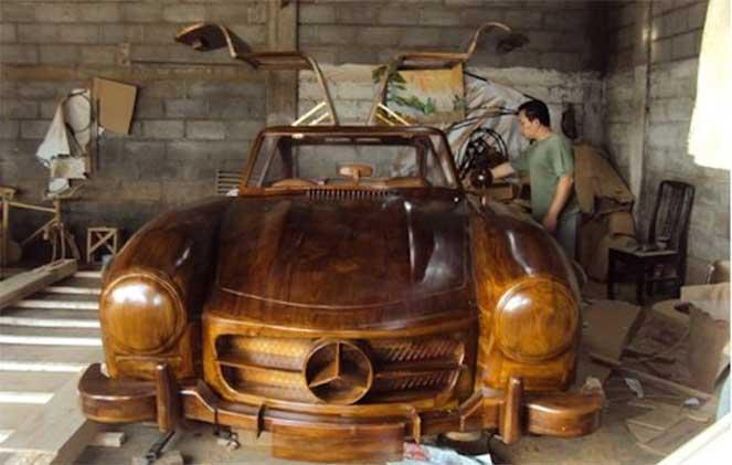 10 самых оригинальных деревянных машин