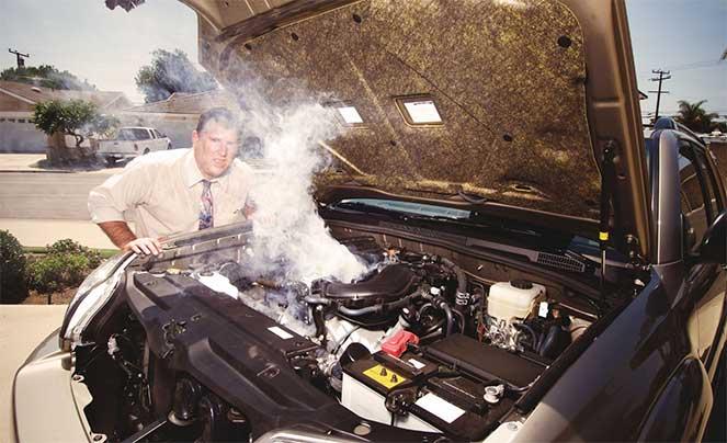 Как избежать перегрева двигателя машины в летнее время?