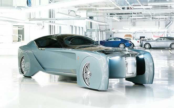 Автомобиль Rolls-Royce