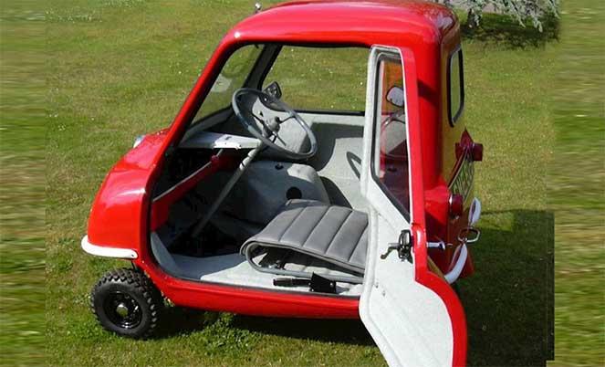 Peel 50– самый маленький автомобиль в мире
