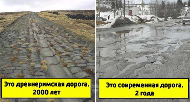 Сравнение дорог