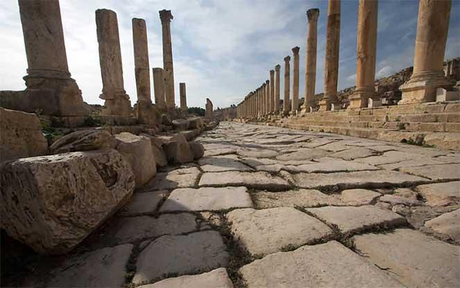 Древнеримская дорога