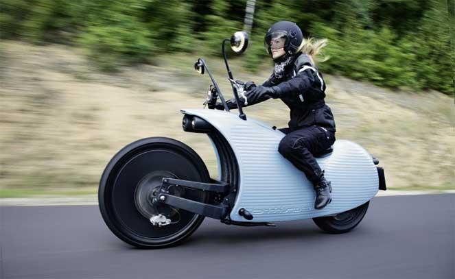Если бы TESLA делала байки: экономичный электромотоцикл с эксклюзивным дизайном