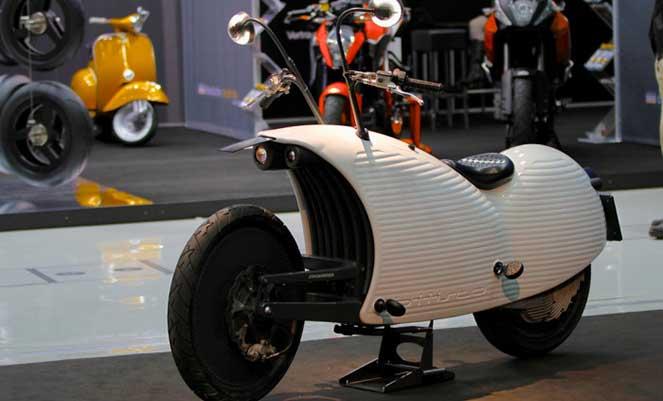 Мотоцикл работающий на электричестве