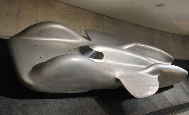Эксклюзивный спортивный автомобиль Mercedes-Benz Т80 1939 года выпуска
