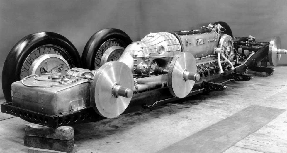 Конструкция Mercedes-Benz Т80