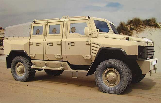 Бронеавтомобиль «Буран»