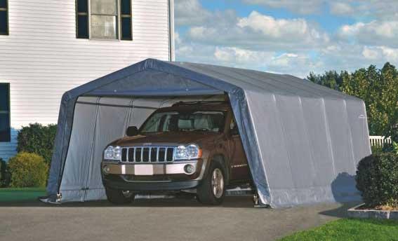 Разновидности портативных гаражей для машины