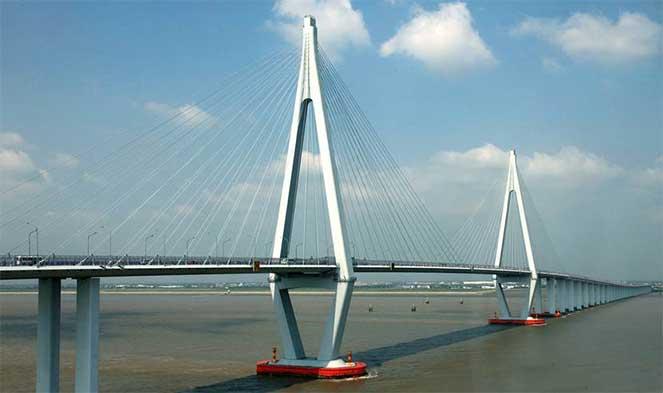 Трансокеанский мост через залив Ханчжоувань