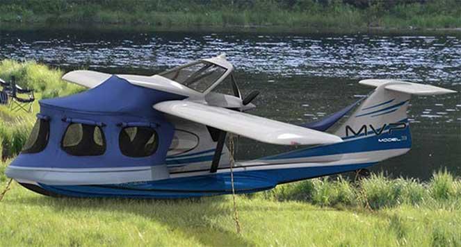 Гибридный самолет / лодка / кемпер