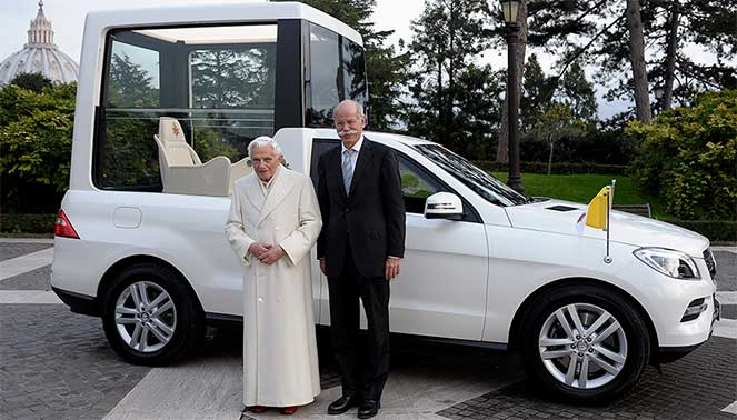 Автопарк Папы Римского