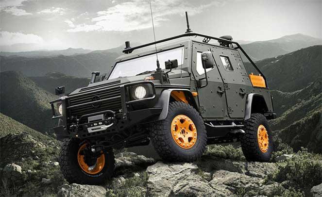 Mercedes-Benz G-Сlass LAPV 6.X