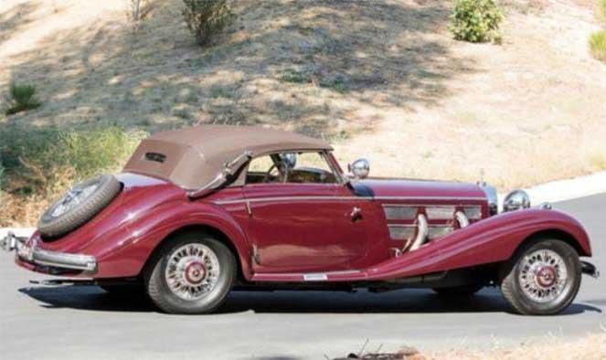 1937 Mercedes-Benz 540 K Sport Cabriolet A