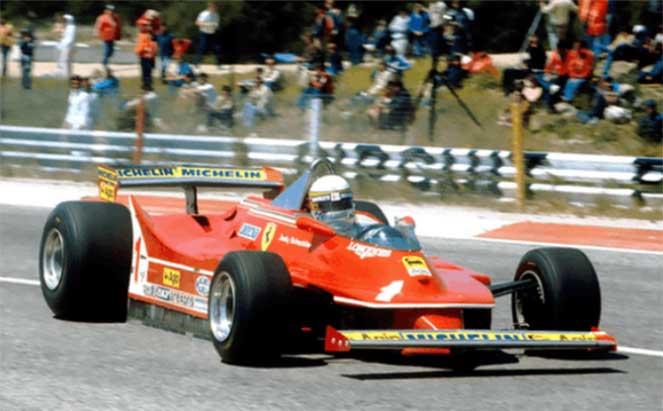 1980 Ferrari 312 T5 Formula 1