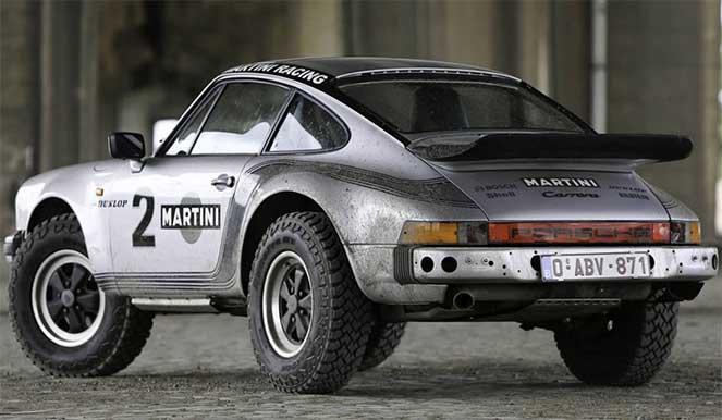 Porsche 911 Safari – оригинальный автомобиль для жестких условий