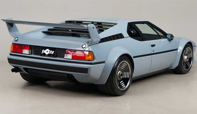 Культовое и уникальное авто BMW M1
